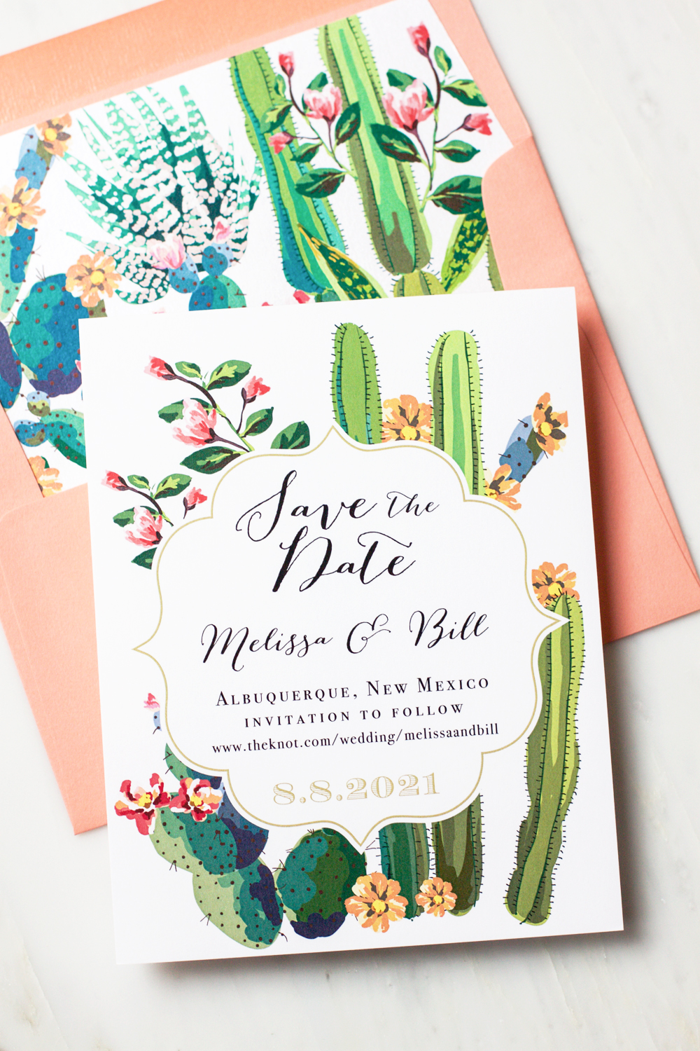 Unique Wedding Save Dates