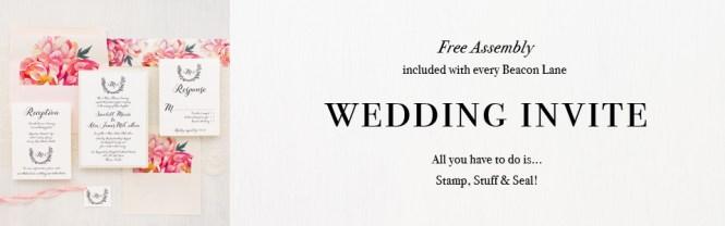 Bundled Wedding Invitations Beacon Lane
