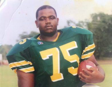 <p><p><strong>CAPTAIN</strong>— Emery D. Small poses for a photo during his senior year at DeLand High School. During his senior year, Small was the captain of the football team.</p></p><p>PHOTO COURTESY EMERY D. SMALL</p>