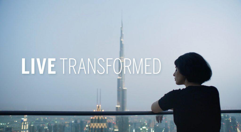 live transformed