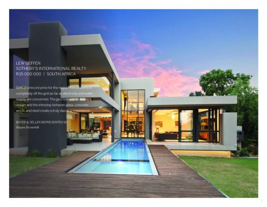 buy and sell luxury real estate