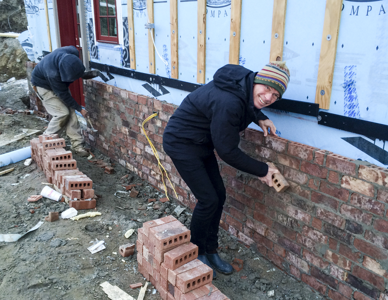 Getting the brickwork exactly right