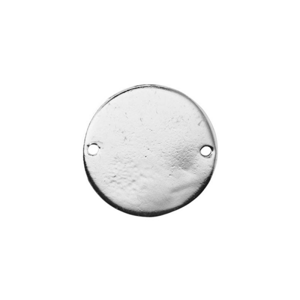 Sterling Silver Round Blanks Tags