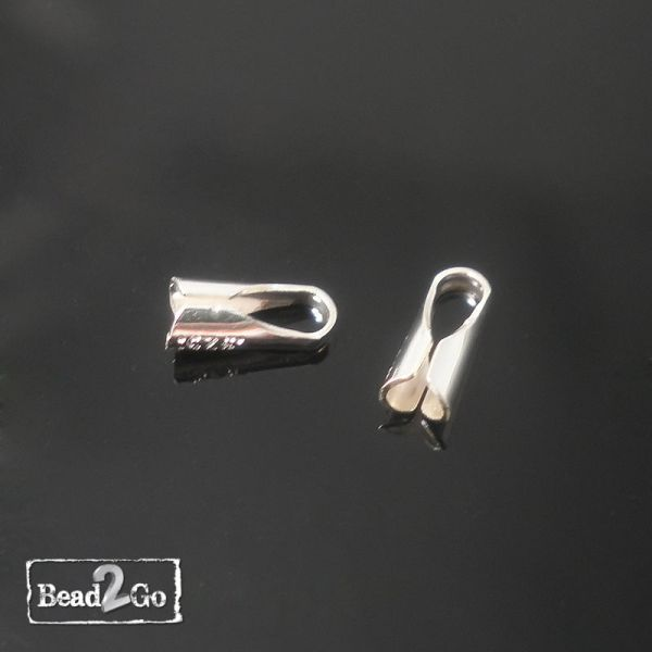 silver end cap