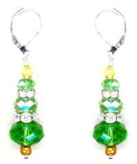 Christmas Tree Earrings Creative Bead Kit