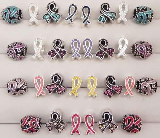Awareness Ribbons European Beads Collection
