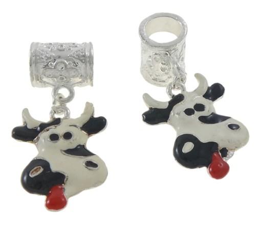 2pcs Cow Dangles