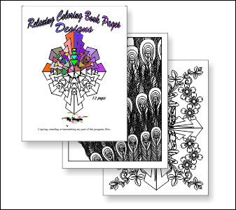 Desings Coloring Pages : Beading Patterns and kits by