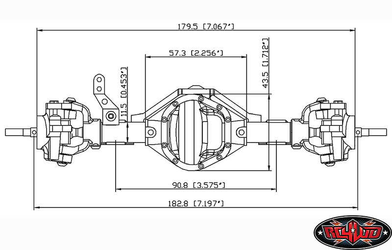 Here you can find all details on D44 Axles