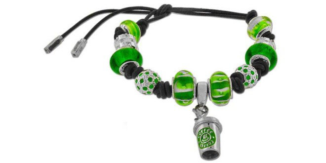 Leather bracelets example with charm