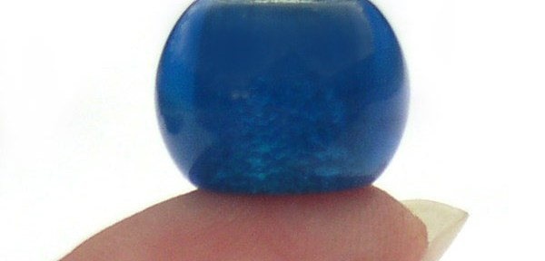 Blue Glass Biagi Beads