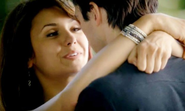 Elena from the Vampire Diaries cast wears earrings from Bead Lovers Korner