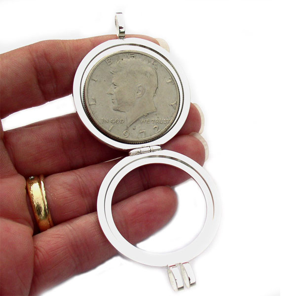 Coin Holder Open