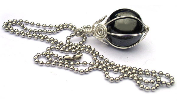 Hematite jewelry handmade gifts for members of the press