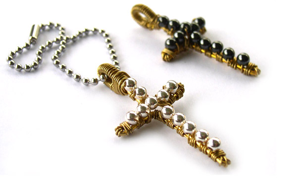 Beaded-Crosses-two