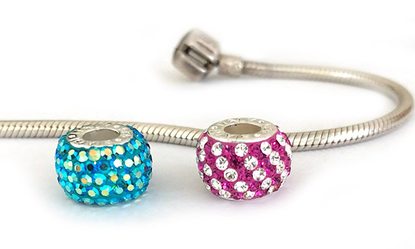 Discounted store sample beads