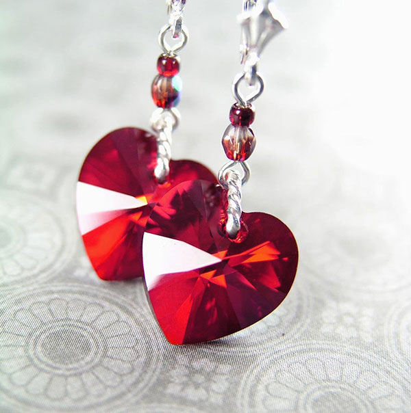 Red-Crystal-Heart-Earrings