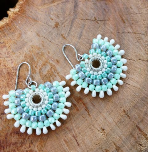 how to make beaded
