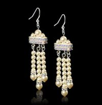 Learn how to create this Gatsby inspired earrings with ...
