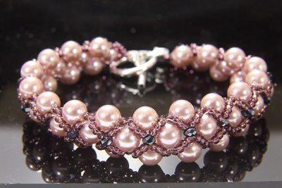 Purple Elegance Bracelet