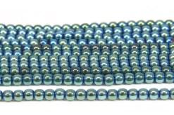 4mm Hematite Rounds