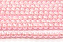 Marshmallow Pink Glass Pearl