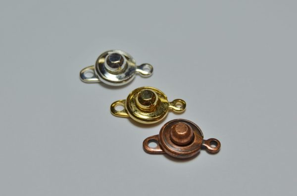 """""""snap"""" Clasps - Base Metal Necklaces And"""