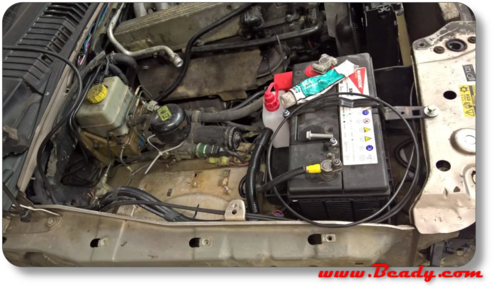 medium resolution of battery moved on p38 range rover extreme camper