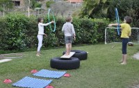 Backyard Obstacle Course | Be A Fun Mum