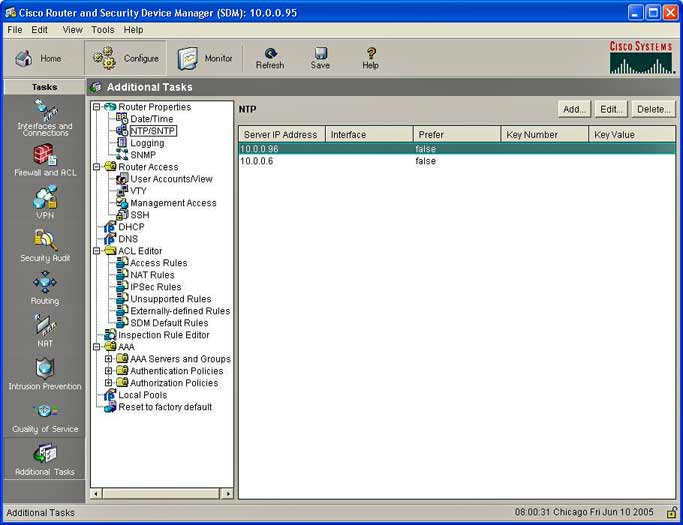 Cisco Security Manager 50