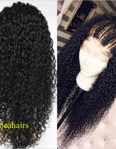 Brazilian virgin water wave frontal lace wig ht loading zoom also pre plucked human hair rh beahairs