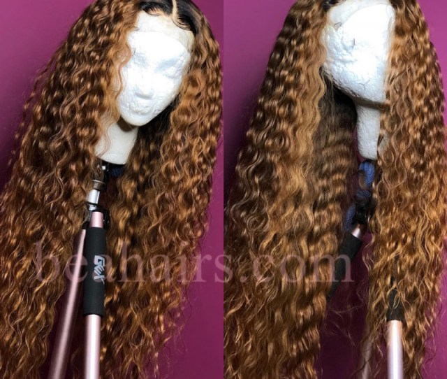 Pre Plucked Brazilian Virgin Wet Wave Human Hair 360 Frontal Lace Full Wig Loading Zoom