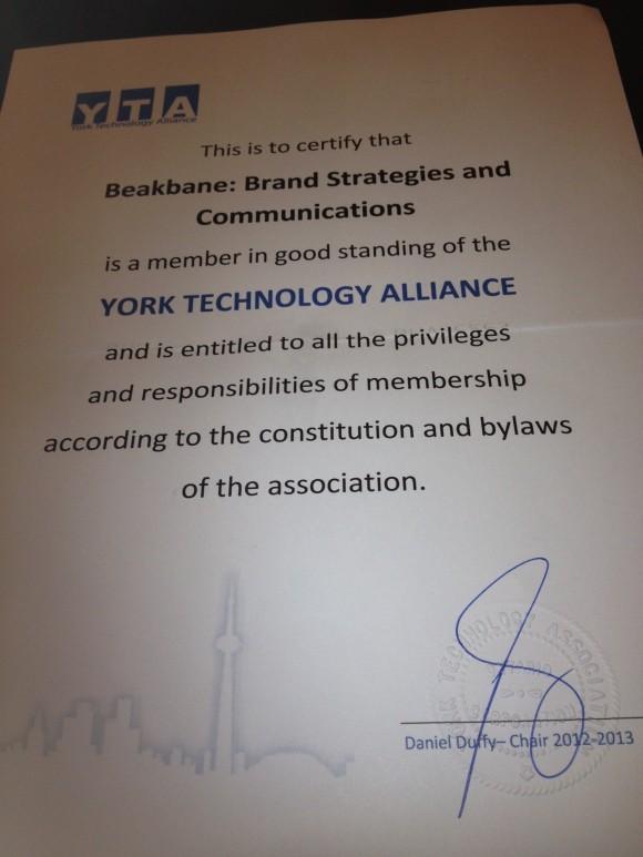 York Technology Alliance