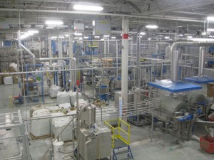 The size and sophistication of Ice River Springs' plastics recycling operation is impressive.