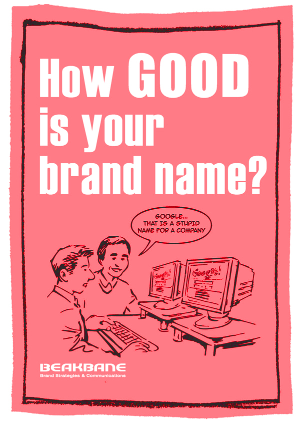 Beakbane: How good is your brand name? - hover