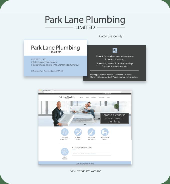 Park Lane Plumbing Limited - Beakbane Brand Strategies
