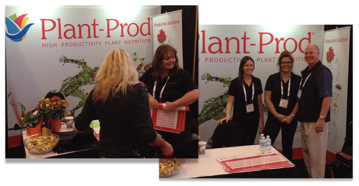 Plant-Prod Trade Show booth
