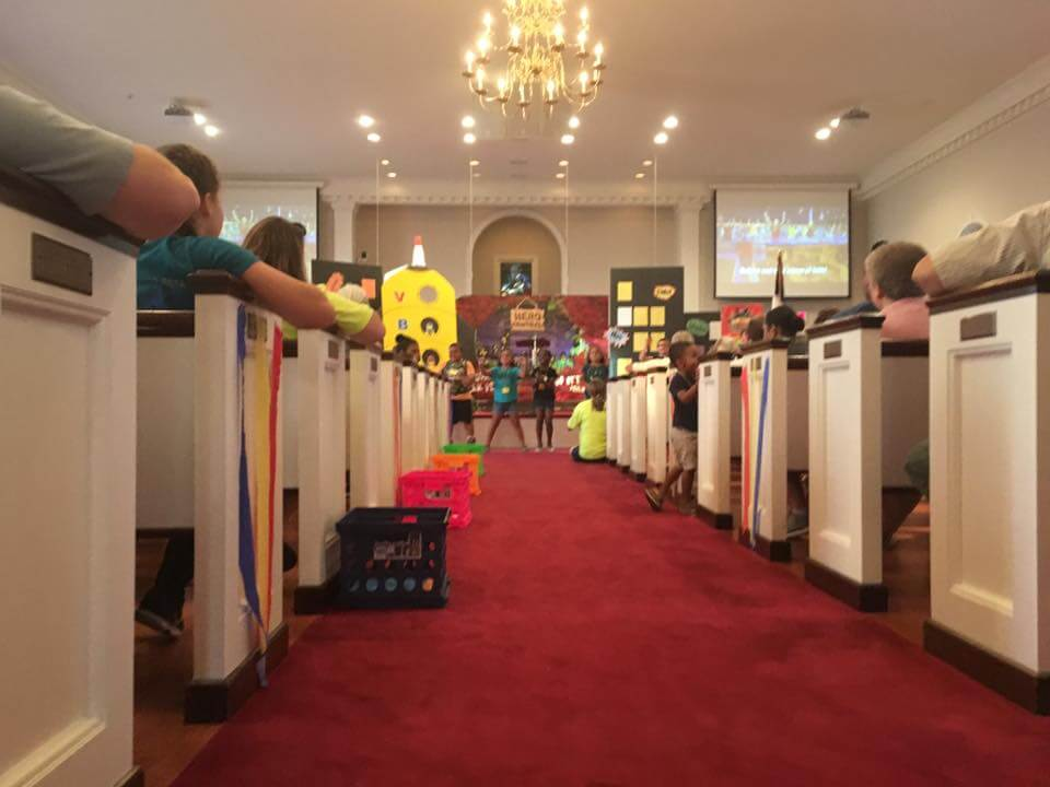 VBS Closing Ceremony a Hit! – Beale Memorial Baptist Church