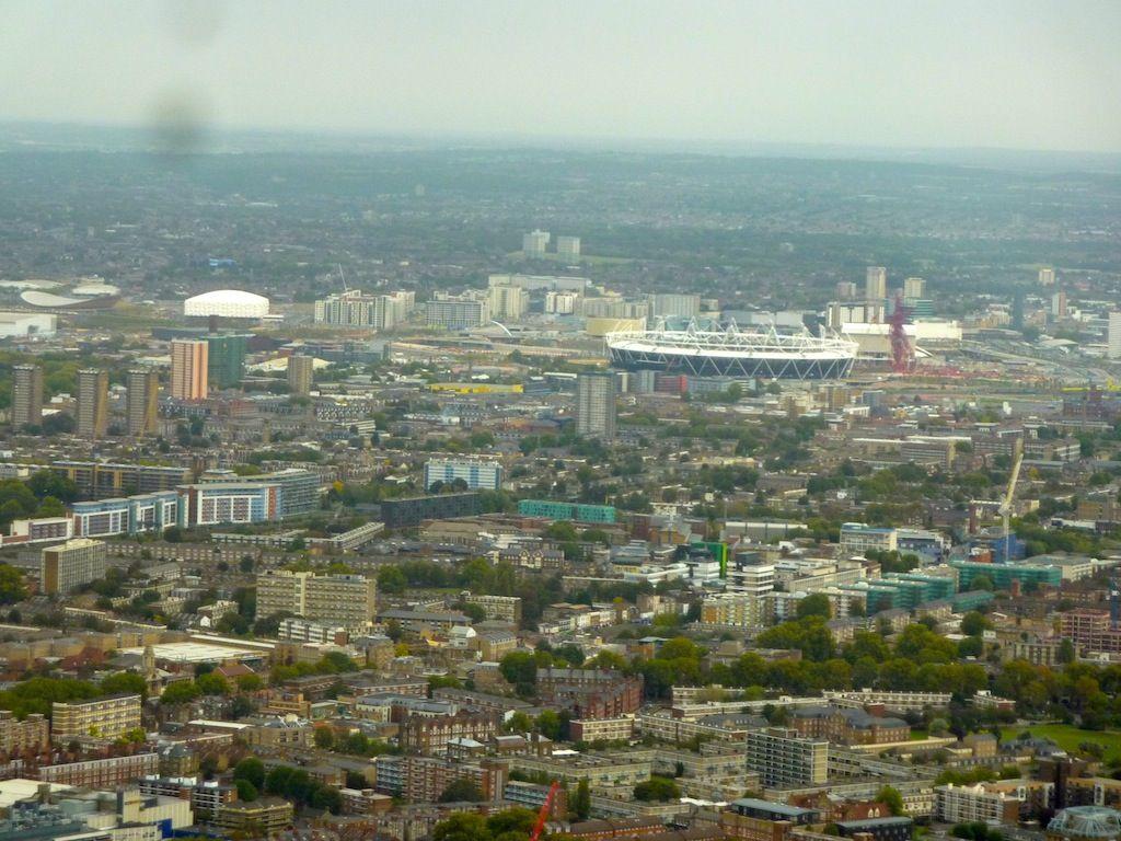 Photos de Londres et ses alentours  Londres vue du ciel