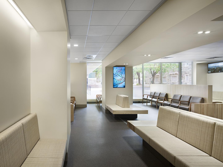 Ryan Veterinary Hospital Lobby  BEAM  Illuminating