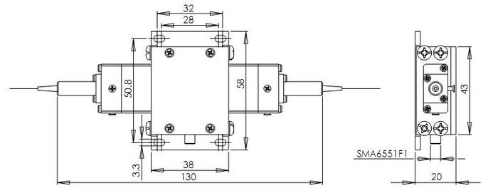 Fiber-coupled Acousto-optical Modulators(AOM) : High Power