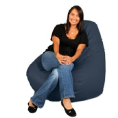 Mushroom Bean Bag Chair Ikea Replacement Covers Really Big Chairs Are Designed For Adults Up To 6 Tall By 125 Xl Adult Beanbag Marine Blue