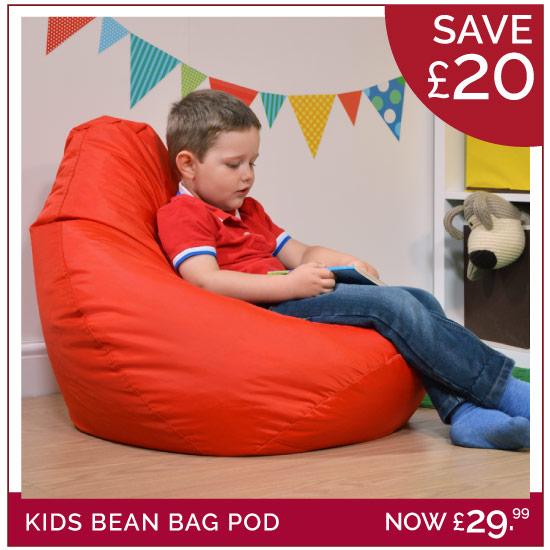 Shop Kids Bean Bags  Childrens Bean Bags  BeanBag Bazaar