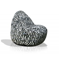 Cheetah Print Bean Bag Chair Wheelchair Parts Name 1 Seater Sitsational Lounger Animal Zebra American More Views
