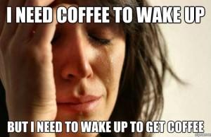Coffee woman meme