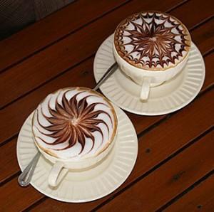 swirl latte