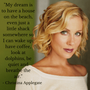 Christina Applegate Coffee