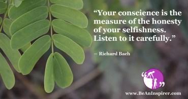 Have Faith On Your Own Conscience