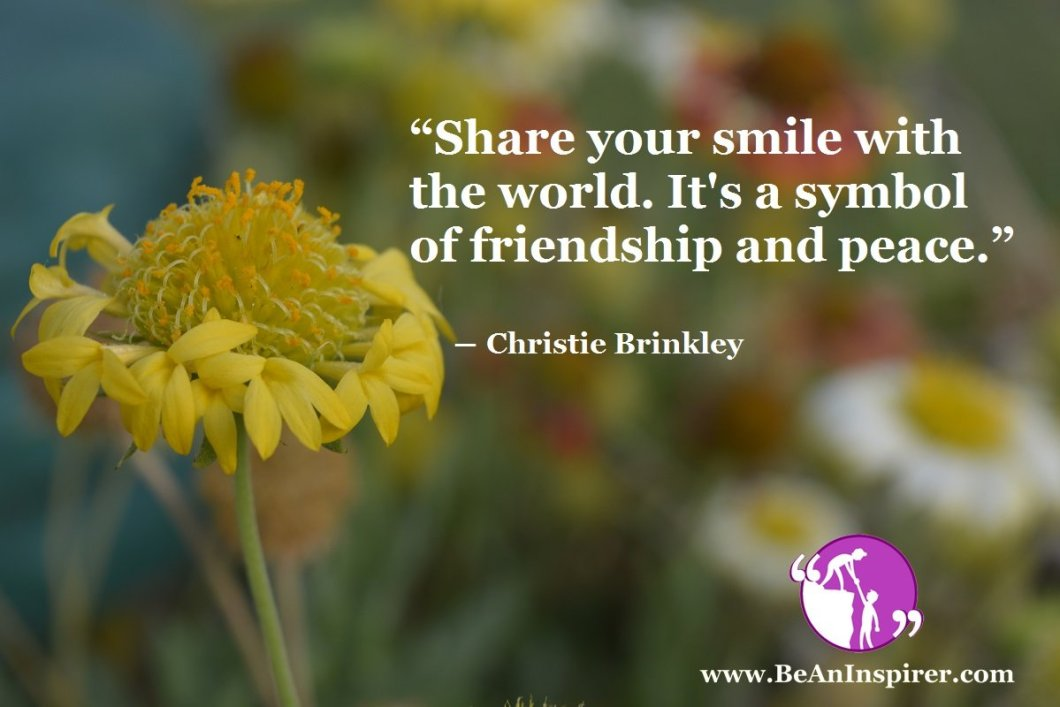 The Power of a Positive Smile – Means of Peace and Friendship