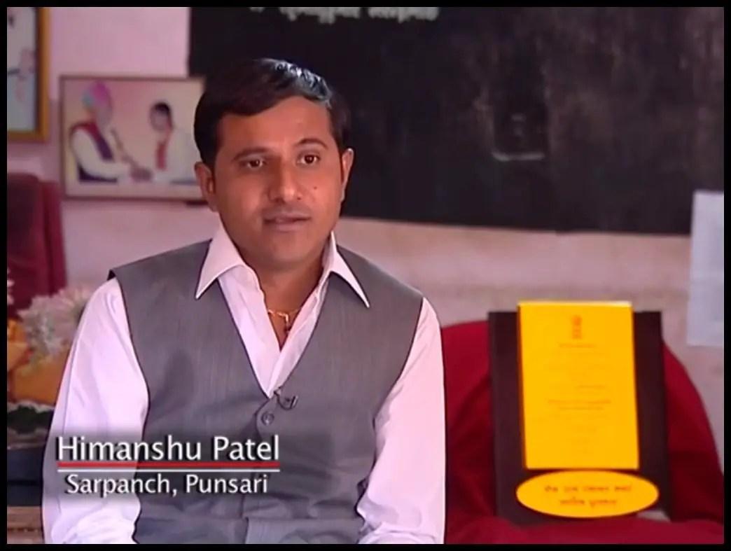 Himanshu-Patel-Transforming-Punsari-of-Gujarat-the-new-modern-village-of-India-Be-An-Inspirer